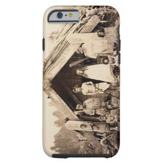 Maori Family, New Zealand, c.1880s (albumen ) Tough iPhone 6 Case