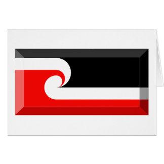 Maori Flag Jewel Cards