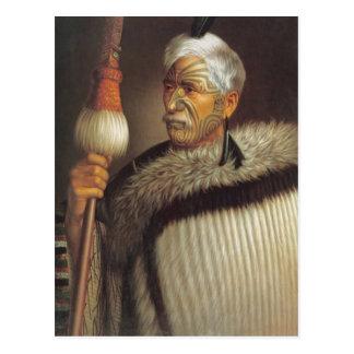Maori Gentleman Postcard
