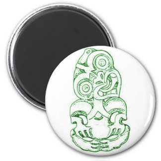 Maori Hei-Tiki Sketch Magnet