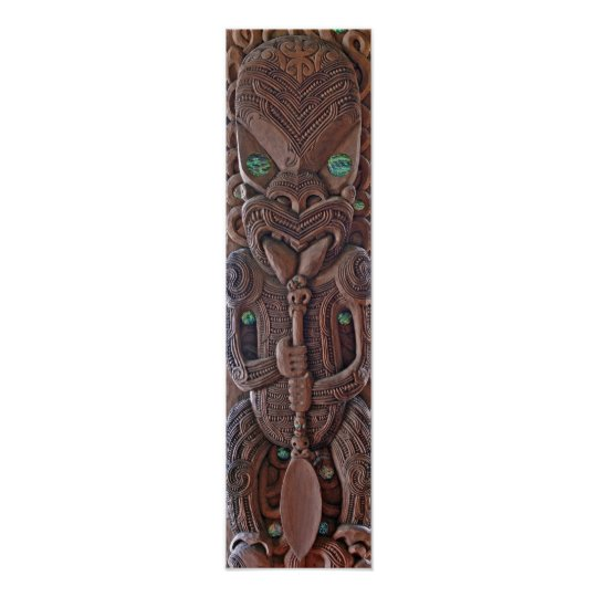 Maori Kahungunu Carving Print