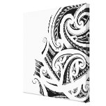 Maori Kirituhi tattoo art Canvas Prints