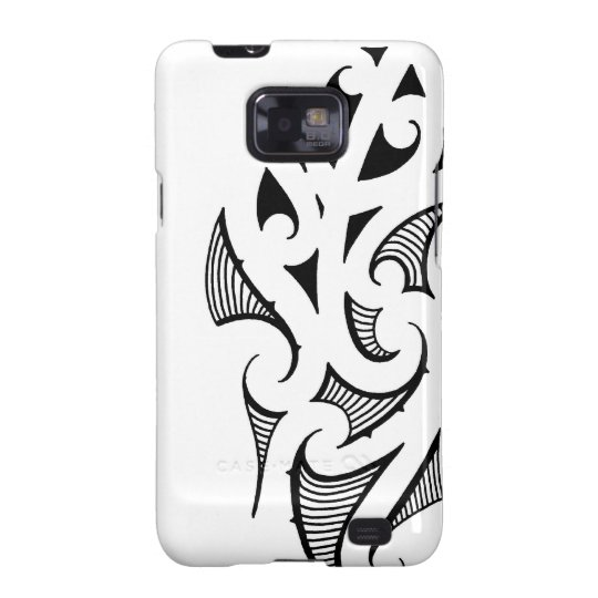 Maori koru shape pattern basic design galaxy s2 cover