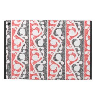 Maori Kowhaiwhai Distressed Pattern iPad Air Case