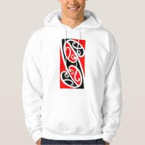 Maori Kowhaiwhai Pattern 2 Hoodie