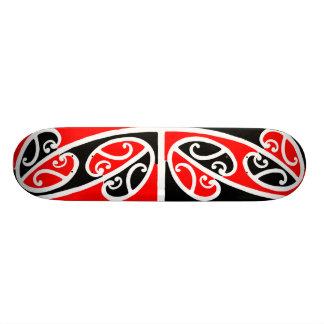 Maori Kowhaiwhai Pattern 2 - Skateboard