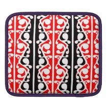 Maori Kowhaiwhai Traditional Pattern iPad Sleeve