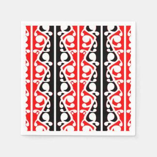Maori Kowhaiwhai Traditional Pattern Napkin