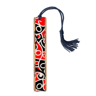 Maori Kowhaiwhai Tribal New Zealand Bookmark