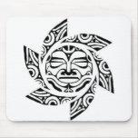 Maori Mask Mouse Pad