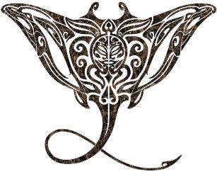 8059d50129c28 maori pattern stingray temporary tattoo