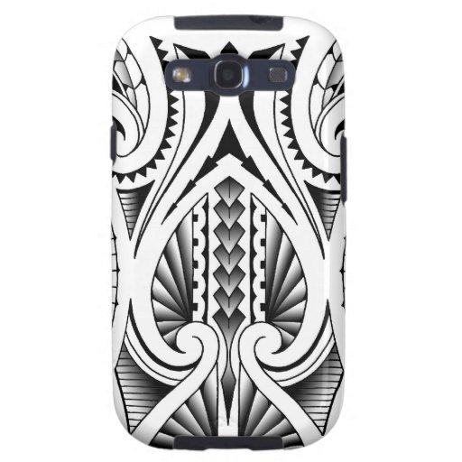 Maori / Polynesian tribal tattoo pattern Samsung Galaxy SIII Cover