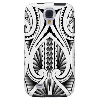 Maori / Polynesian tribal tattoo pattern Galaxy S4 Case