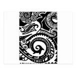 maorí postales
