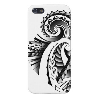Maori/Samoan tribal tatoo art Cover For iPhone SE/5/5s