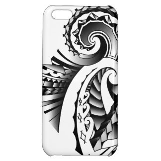 Maori/Samoan tribal tatoo art iPhone 5C Cases