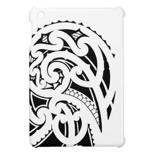 maori shoulder tattoo design ipad mini cover zazzle. Black Bedroom Furniture Sets. Home Design Ideas