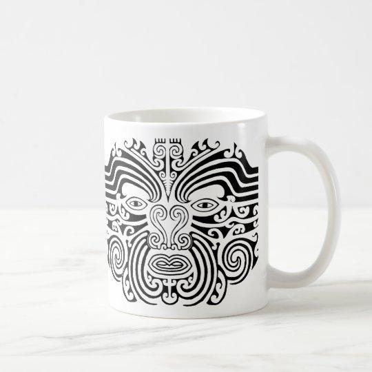Maori Tattoo - Black and White Coffee Mug