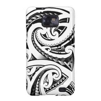 Maori tattoo designs New-Zealand moko Galaxy SII Cover