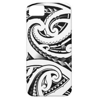Maori tattoo designs New-Zealand moko iPhone 5 Case