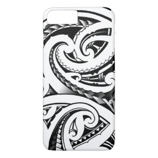 Maori tattoo designs New-Zealand moko iPhone 7 Plus Case