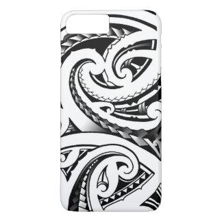 Maori tattoo designs New-Zealand moko iPhone 8 Plus/7 Plus Case