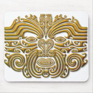 Maori Tattoo - Gold Mousepad
