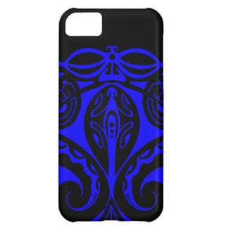 Maori tiki tattoo with tribal lizard design iPhone 5C cover