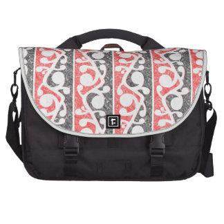 Maori Tribal Distressed Pattern Bags For Laptop