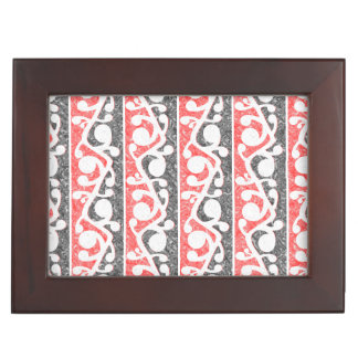 Maori Tribal Distressed Pattern Memory Box