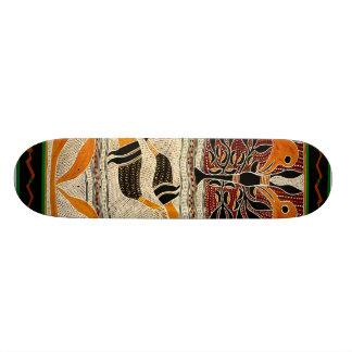 Maori Tribal Folklore Design Skateboard
