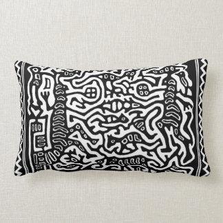 Maori Tribal Folklore Throw Pillow