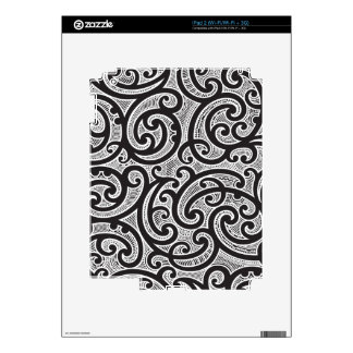Maori Tribal Tattoo Pattern Decals For The iPad 2