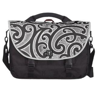 Maori Tribal Tattoo Pattern Laptop Computer Bag
