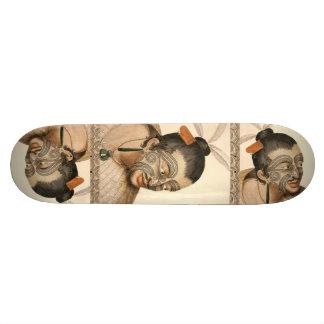 Maori Warrior Skateboard Awesome
