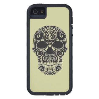 Maoritanga tattoo skull cover for iPhone 5