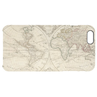 Map 2 clear iPhone 6 plus case
