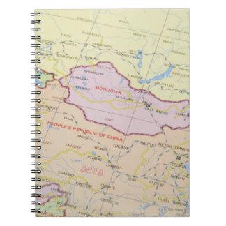 Map 2 spiral notebook