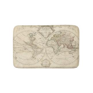 Map 2 bath mats