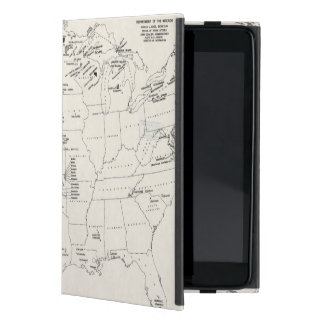 MAP: AMERICAN INDIANS 2 COVER FOR iPad MINI