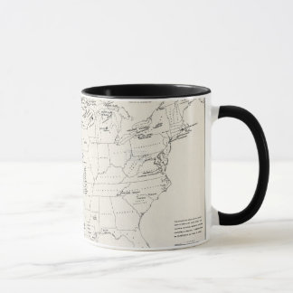 MAP: AMERICAN INDIANS 2 MUG