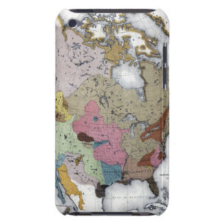 MAP: AMERICAN INDIANS 3 BARELY THERE iPod COVER