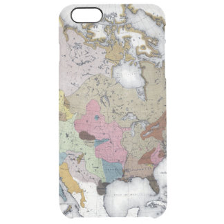 MAP: AMERICAN INDIANS 3 CLEAR iPhone 6 PLUS CASE