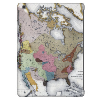 MAP: AMERICAN INDIANS 3 COVER FOR iPad AIR