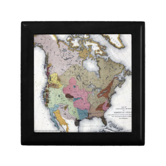 MAP: AMERICAN INDIANS 3 GIFT BOX