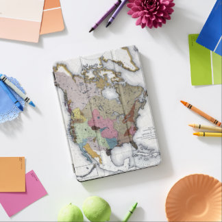 MAP: AMERICAN INDIANS 3 iPad AIR COVER