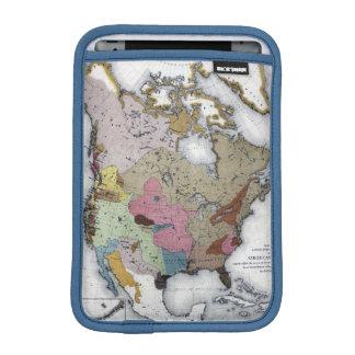 MAP: AMERICAN INDIANS 3 iPad MINI SLEEVES