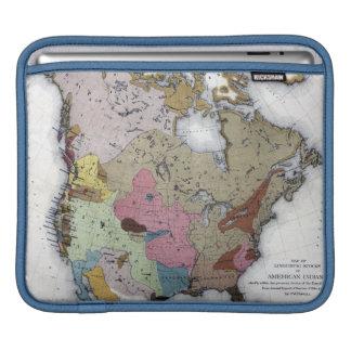 MAP: AMERICAN INDIANS 3 iPad SLEEVE