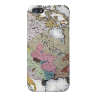 MAP: AMERICAN INDIANS 3 iPhone SE/5/5s CASE