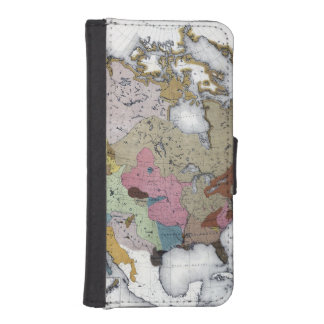 MAP: AMERICAN INDIANS 3 iPhone SE/5/5s WALLET